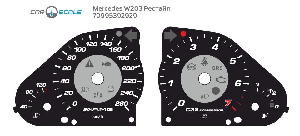 MERCEDES BENZ W203 24