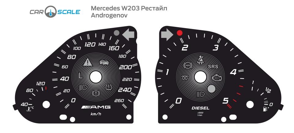 MERCEDES BENZ W203 12