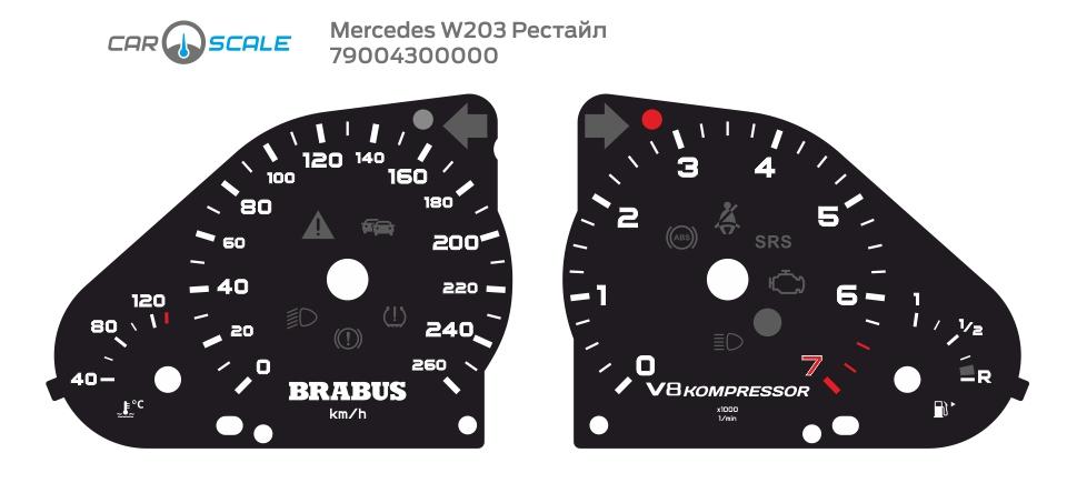 MERCEDES BENZ W203 21
