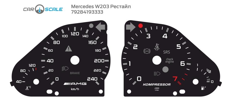 MERCEDES BENZ W203 23