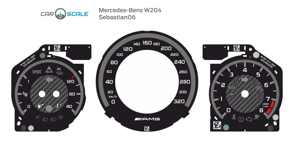 MERCEDES BENZ W204 03