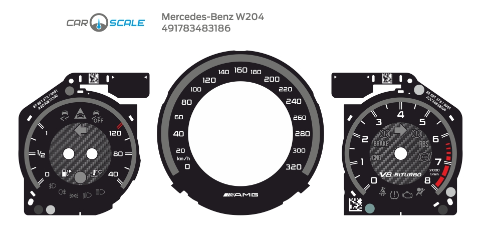 MERCEDES BENZ W204 13