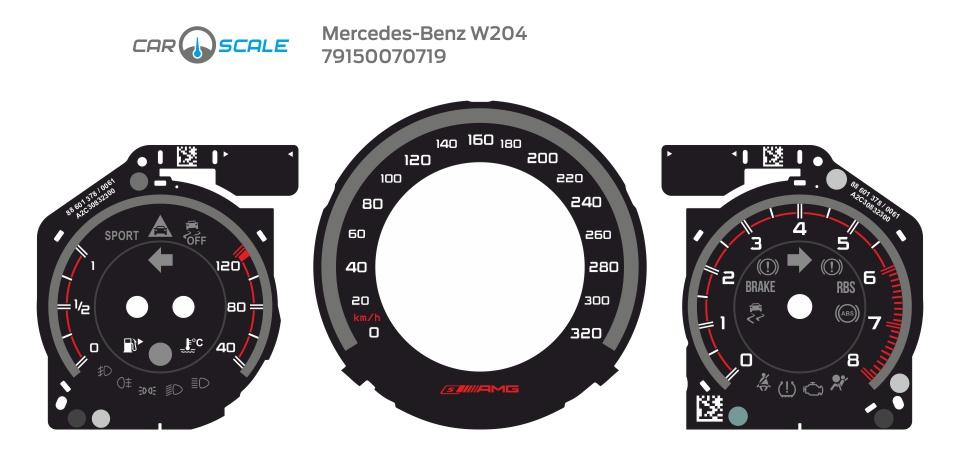 MERCEDES BENZ W204 22