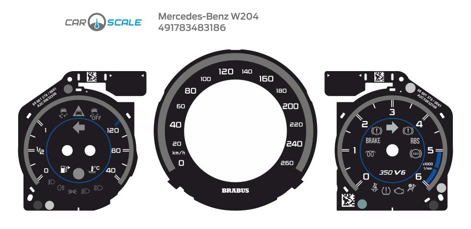 MERCEDES BENZ W204 12