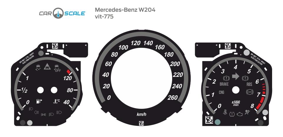 MERCEDES BENZ W204 14