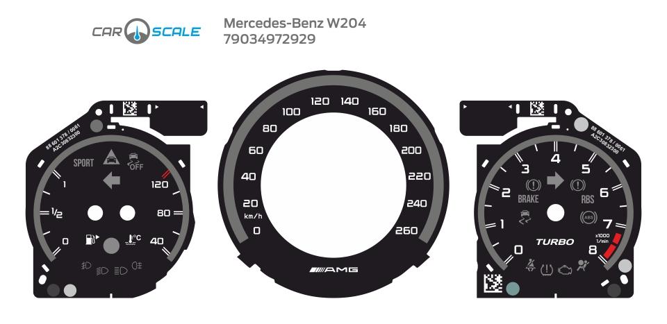 MERCEDES BENZ W204 16