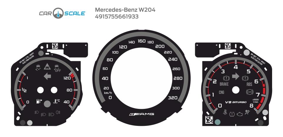 MERCEDES BENZ W204 19