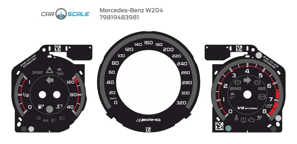 MERCEDES BENZ W204 20