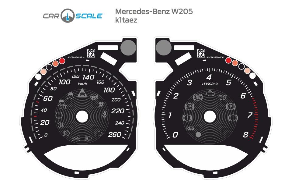 MERCEDES BENZ W205 01