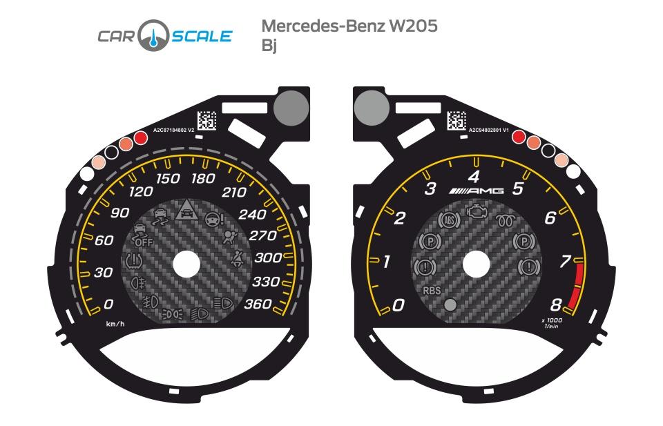 MERCEDES BENZ W205 07