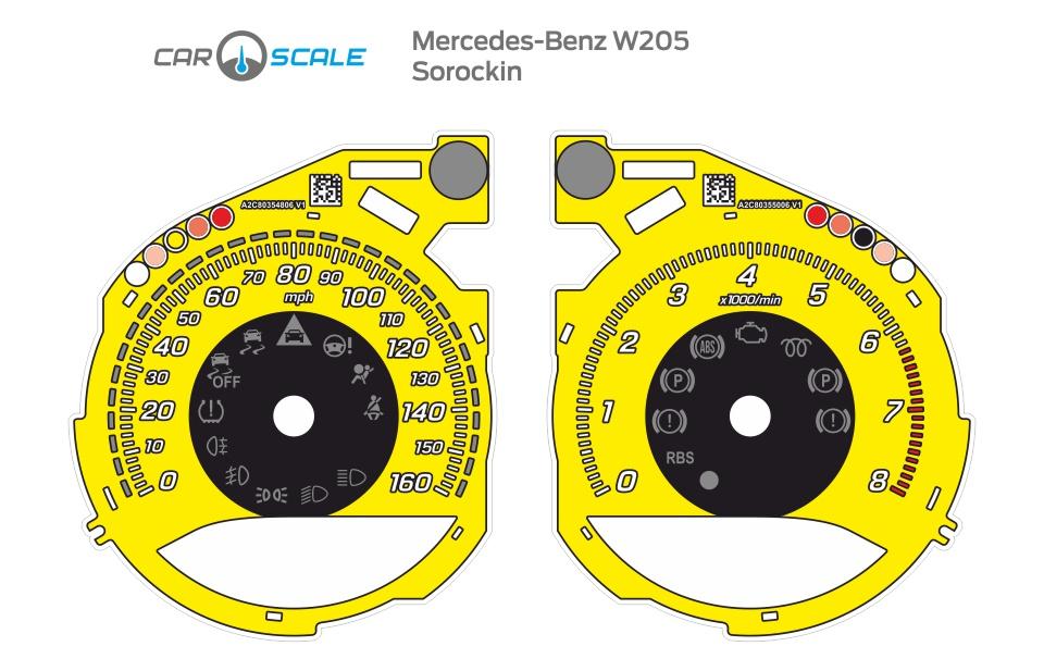 MERCEDES BENZ W205 08