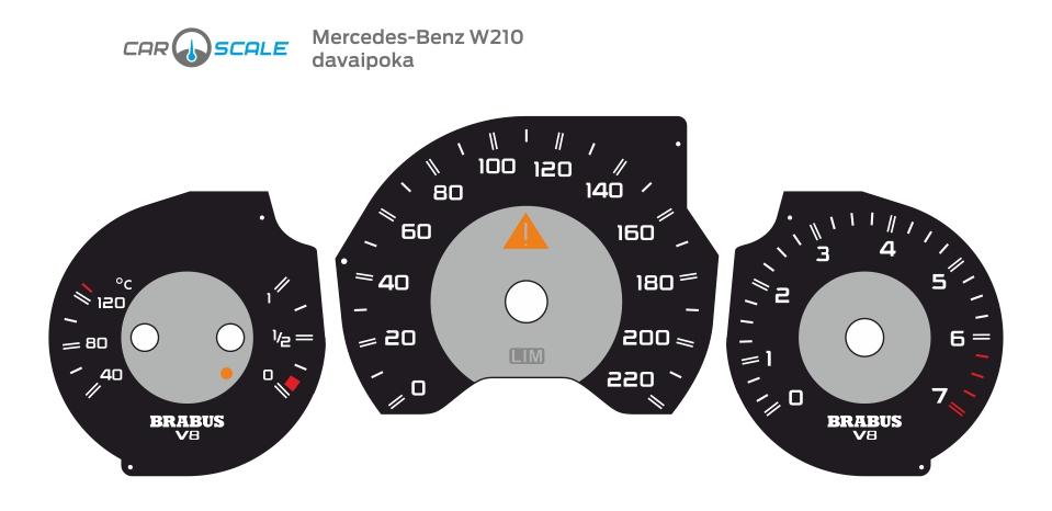 MERCEDES BENZ W210 10