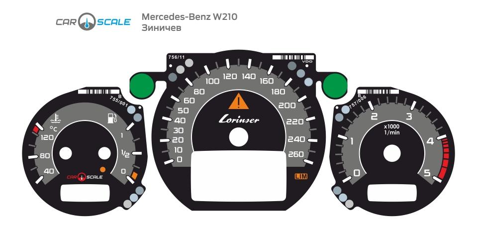 MERCEDES BENZ W210 13