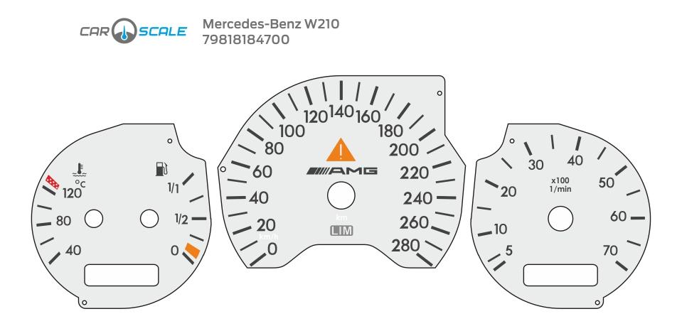 MERCEDES BENZ W210 19