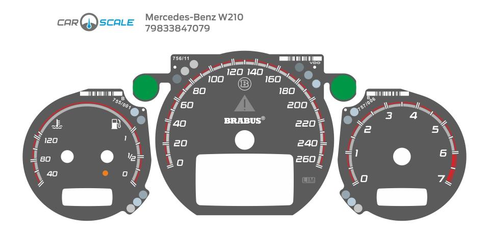 MERCEDES BENZ W210 21