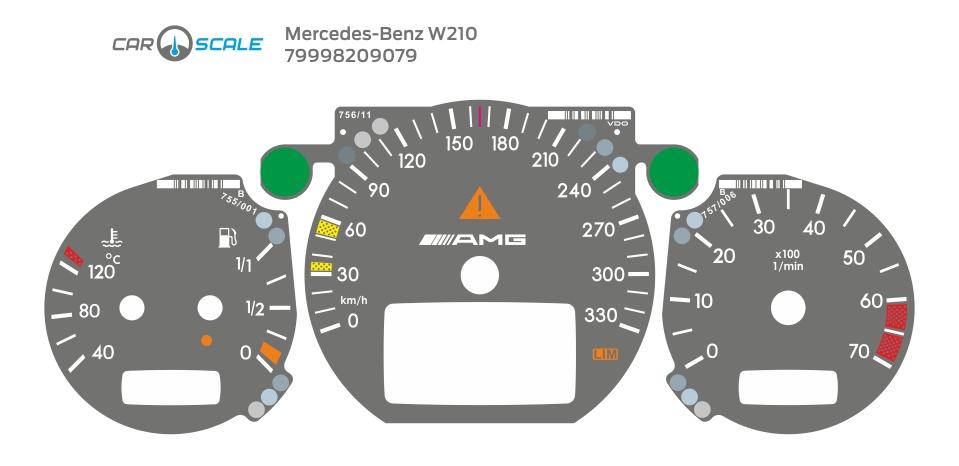 MERCEDES BENZ W210 22