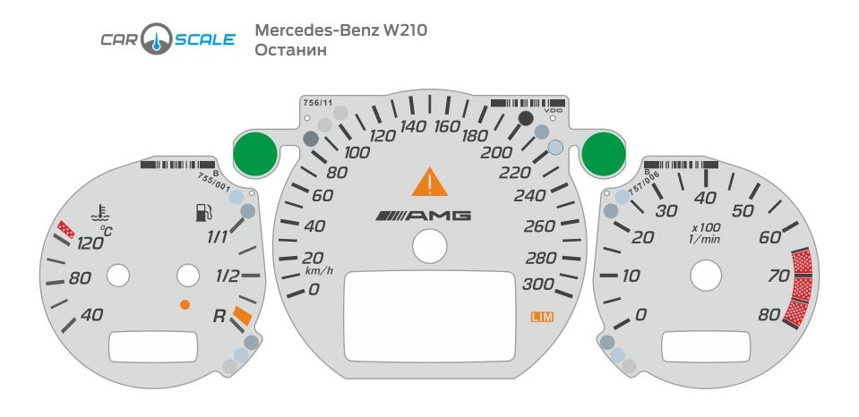 MERCEDES BENZ W210 25