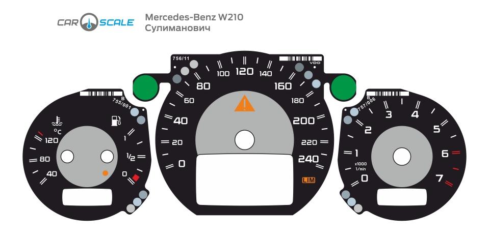 MERCEDES BENZ W210 27