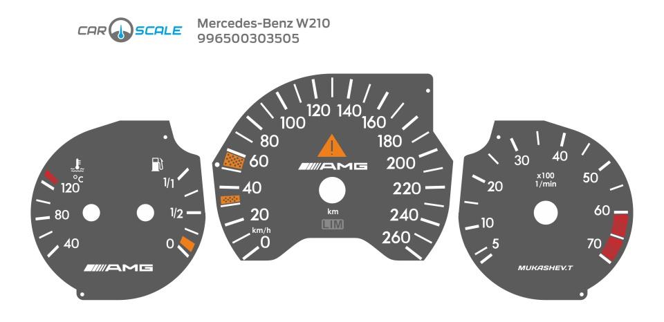 MERCEDES BENZ W210 32