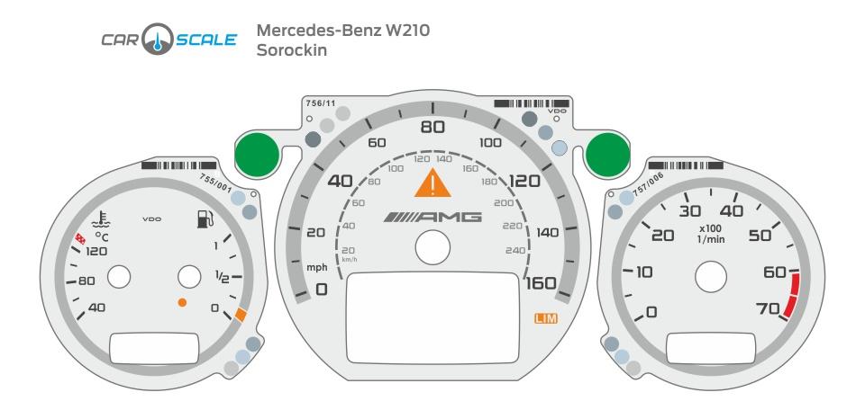 MERCEDES BENZ W210 34