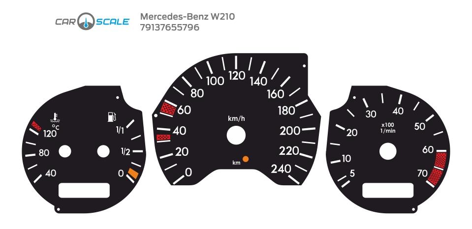MERCEDES BENZ W210 01
