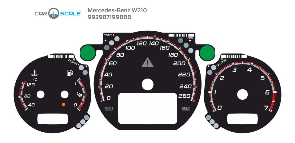 MERCEDES BENZ W210 12