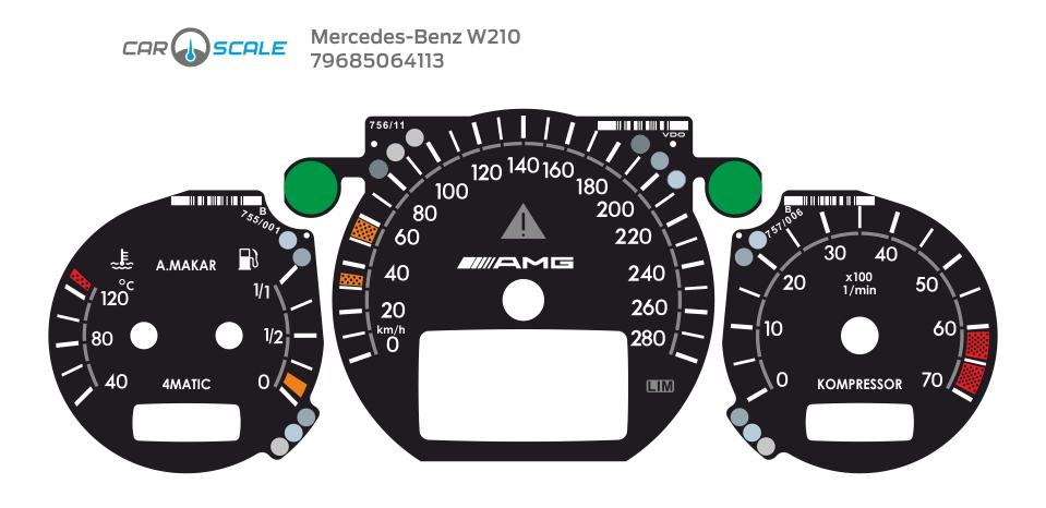 MERCEDES BENZ W210 14