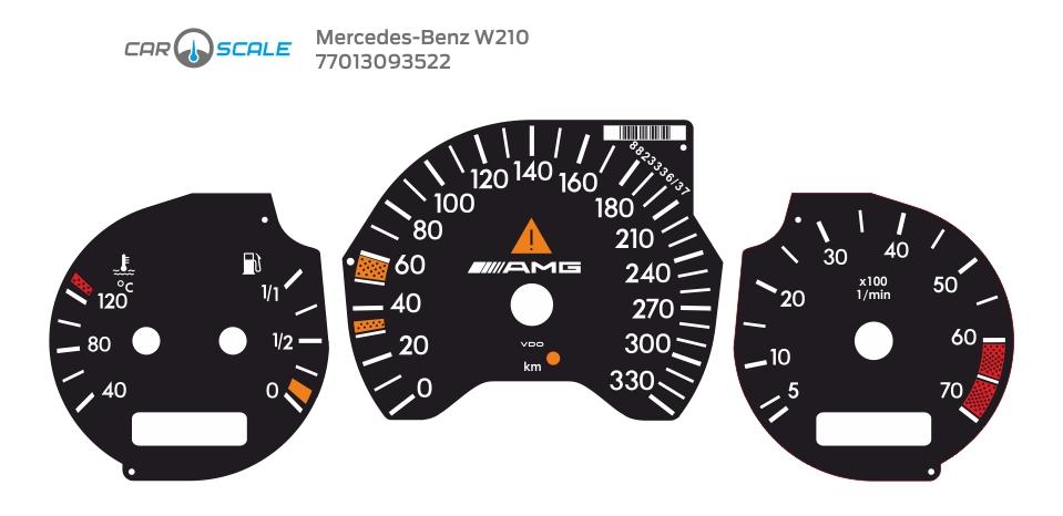 MERCEDES BENZ W210 16