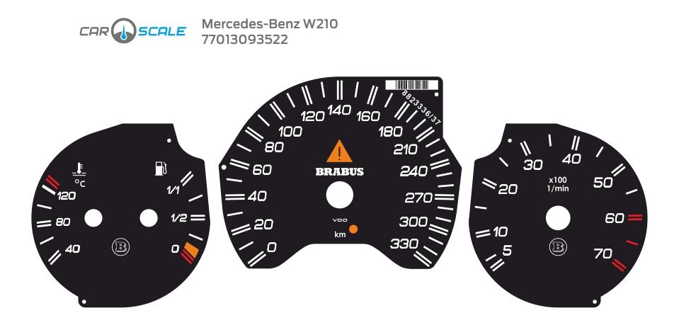 MERCEDES BENZ W210 17