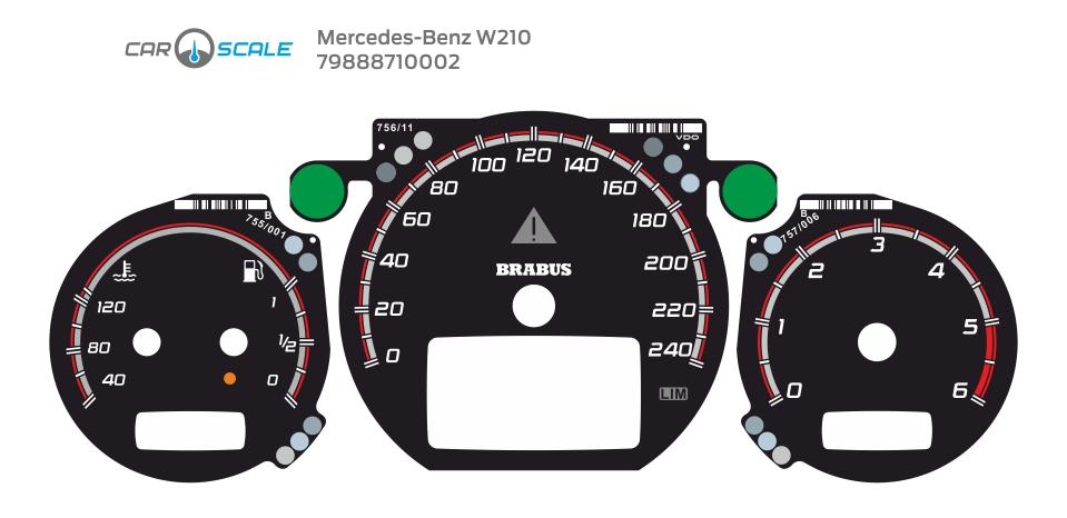 MERCEDES BENZ W210 20