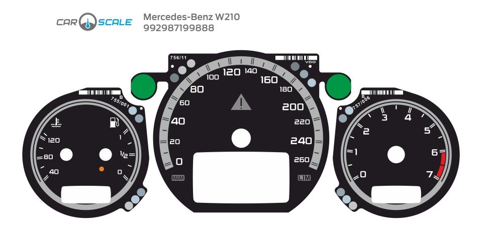 MERCEDES BENZ W210 23