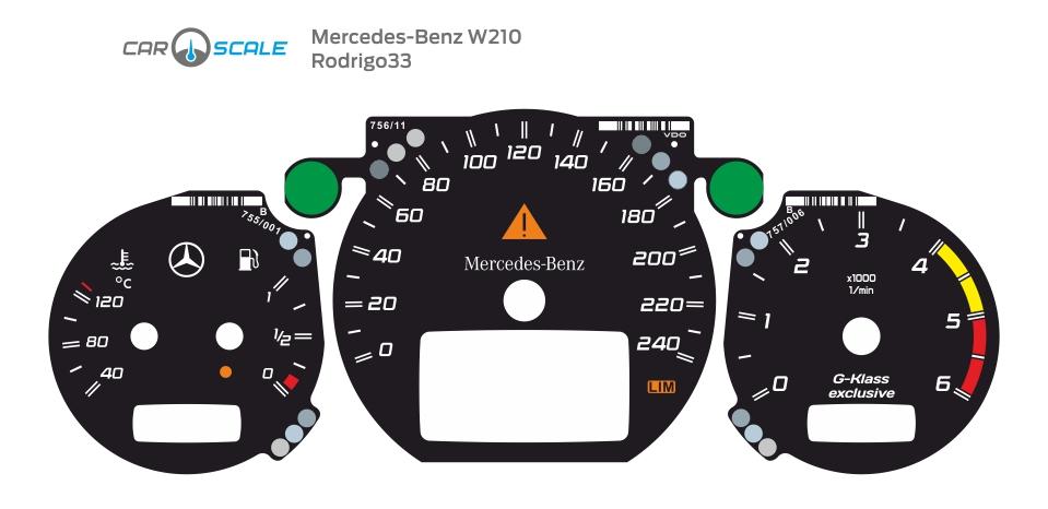 MERCEDES BENZ W210 29