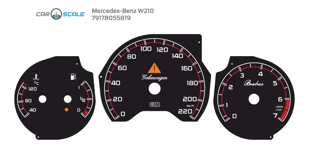 MERCEDES BENZ W210 31