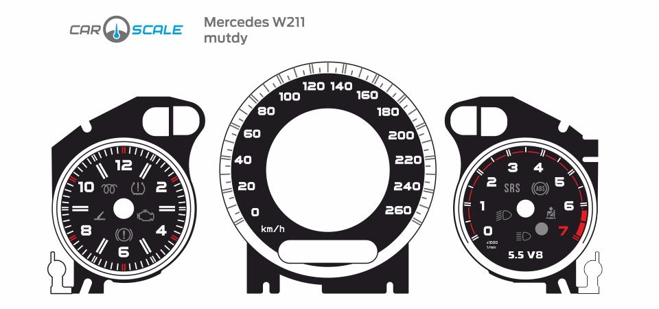 MERCEDES BENZ W211 09