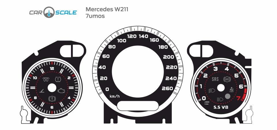 MERCEDES BENZ W211 11