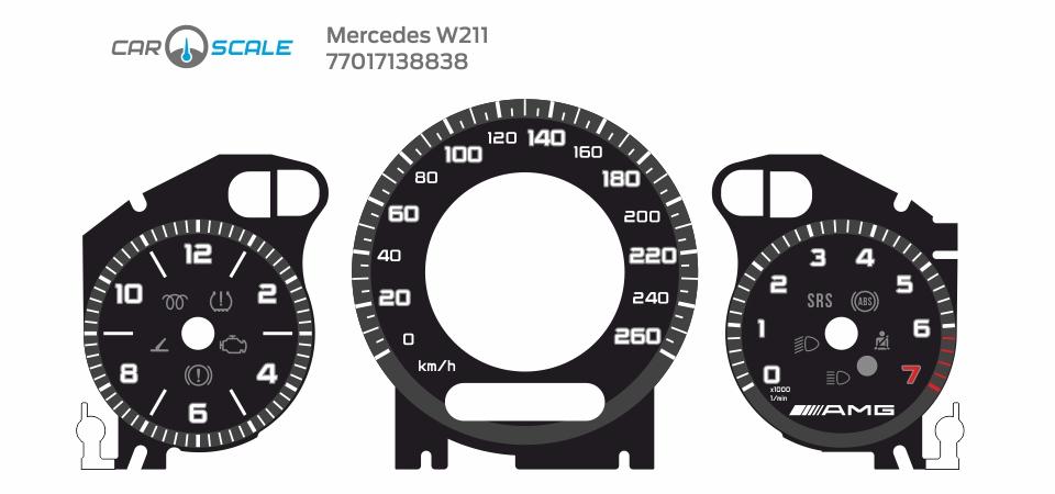 MERCEDES BENZ W211 12