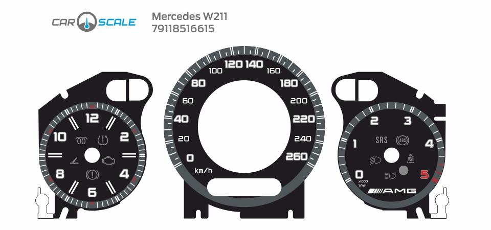 MERCEDES BENZ W211 13