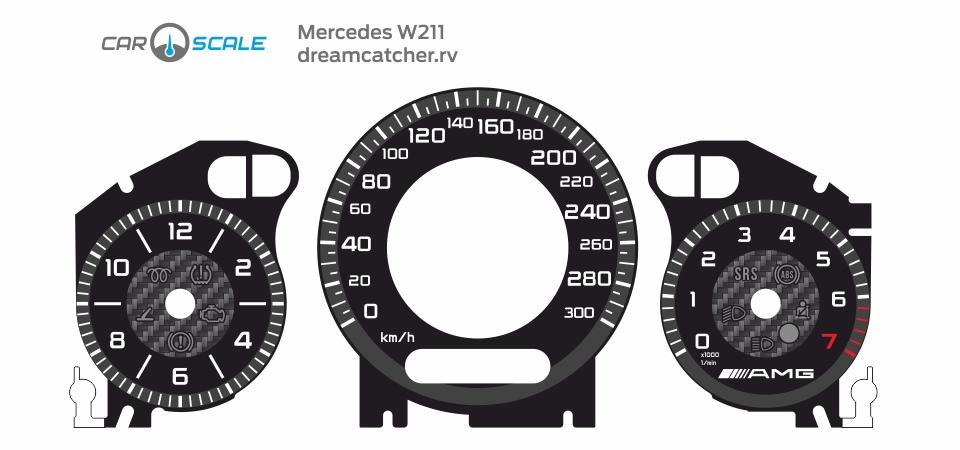 MERCEDES BENZ W211 14