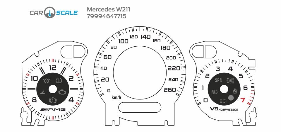 MERCEDES BENZ W211 19
