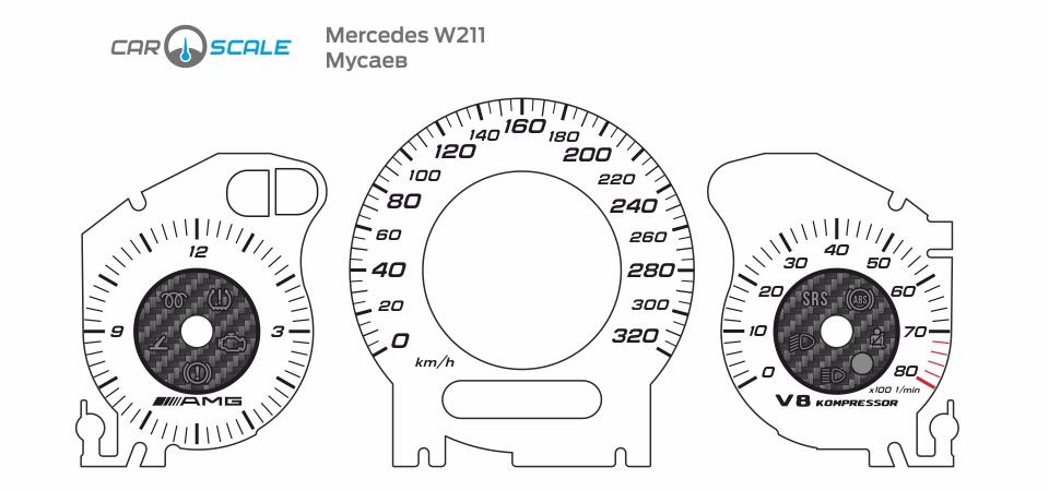 MERCEDES BENZ W211 33