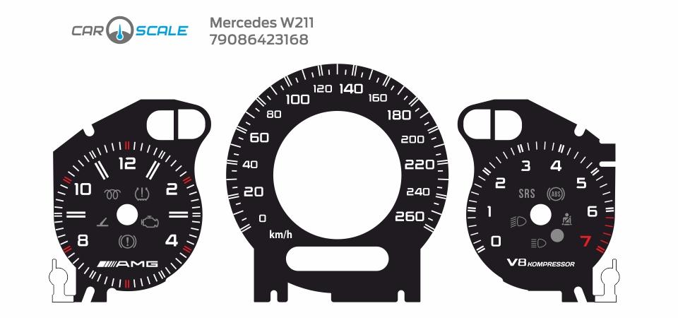 MERCEDES BENZ W211 21