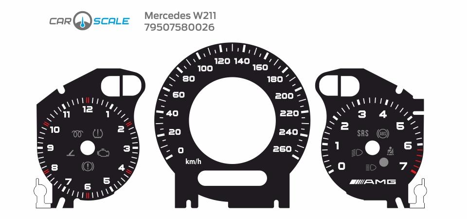 MERCEDES BENZ W211 24