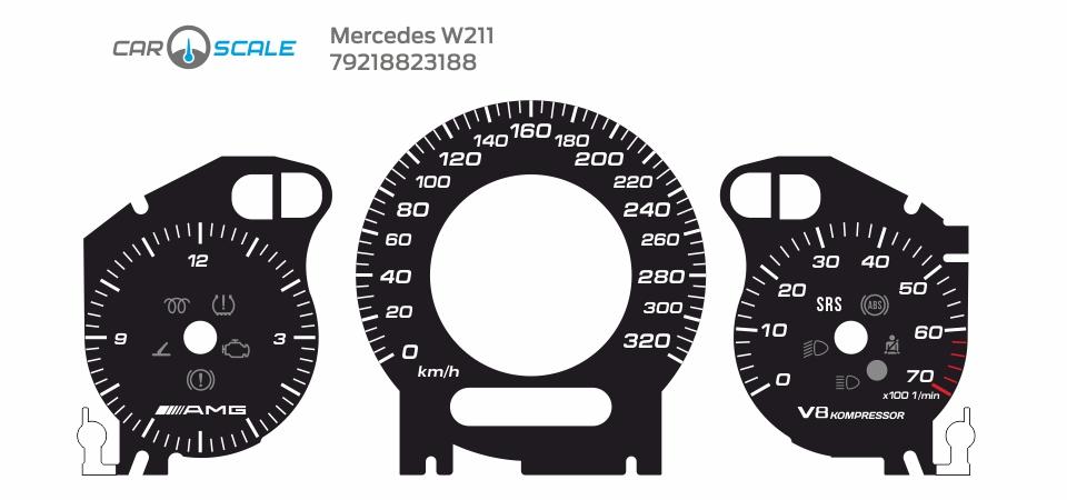 MERCEDES BENZ W211 25