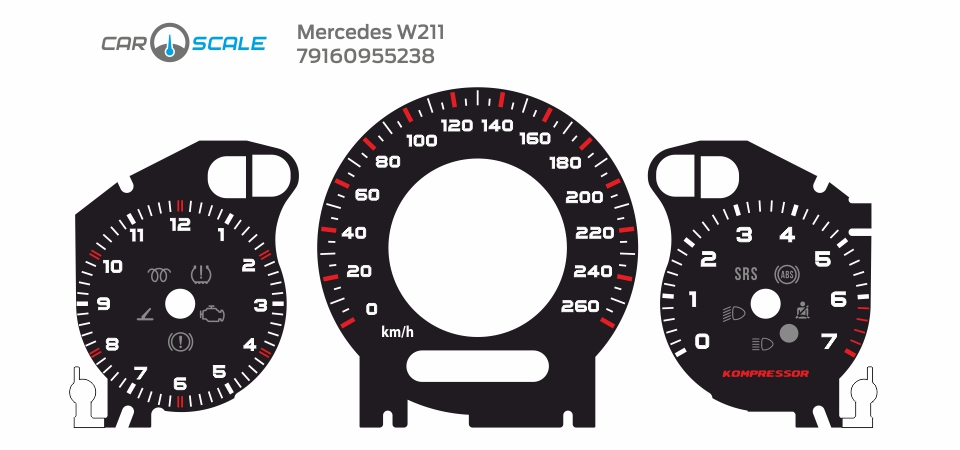 MERCEDES BENZ W211 30