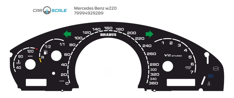 MERCEDES BENZ W220 02