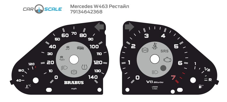 MERCEDES BENZ W463 11