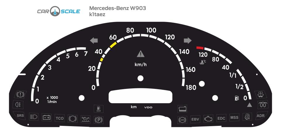 MERCEDES BENZ W903 01