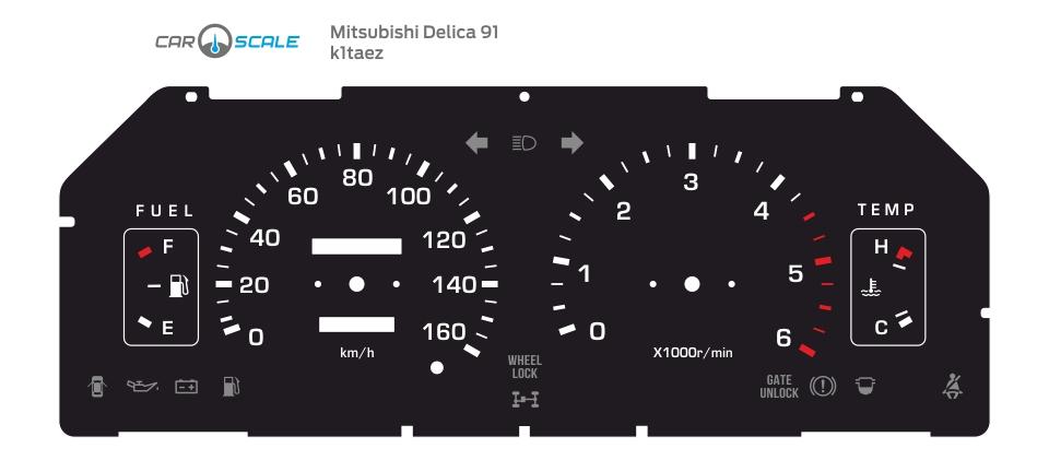 MITSUBISHI DELICA 91 01