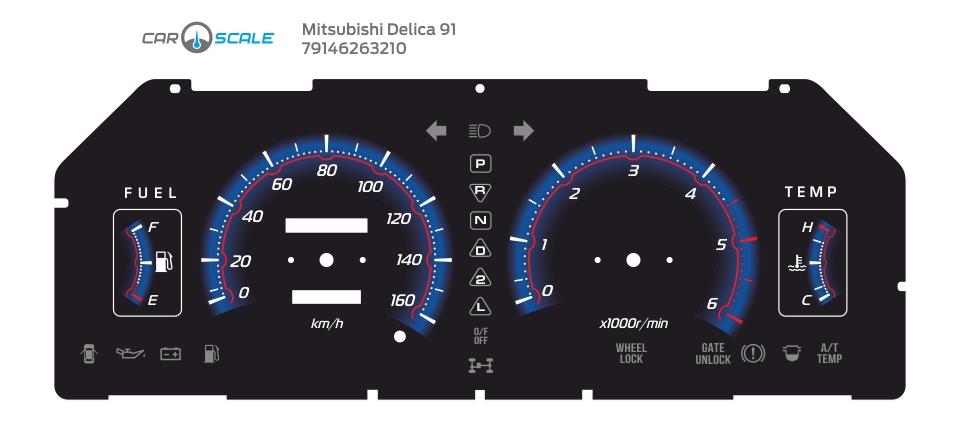 MITSUBISHI DELICA 91 04
