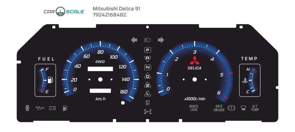 MITSUBISHI DELICA 91 05